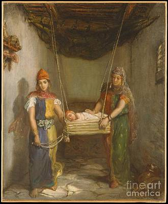 Painting - Scene In The Jewish Quarter Of Constantine by Celestial Images