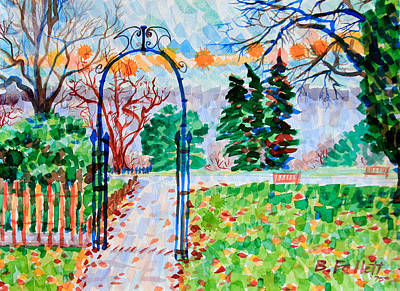 Painting - Scene Near The Crescent by Bonnie Follett