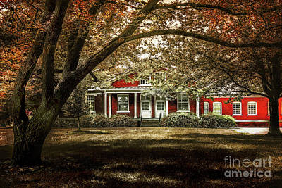 Photograph - Scene Red by John Anderson