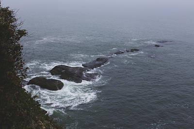 Photograph - Scenery Along The Cliff Walk by Andrew Pacheco