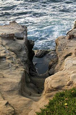 Photograph - Scenes From Shell Beach In La Jolla - 5 by Hany J