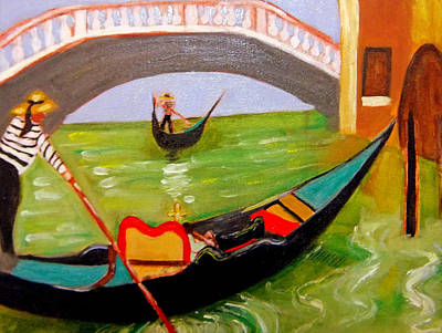 Painting - Scenes From Venezia by Rusty Gladdish