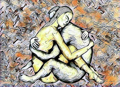Digital Art - Scenes Of Love-making 04-21-06.44.15_2 Erotic Art by S Art