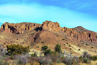 Photograph - Scenic Alpine Texas Mesa by SR Green