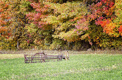 Scenic Amish Landscape 7 Art Print by SharaLee Art