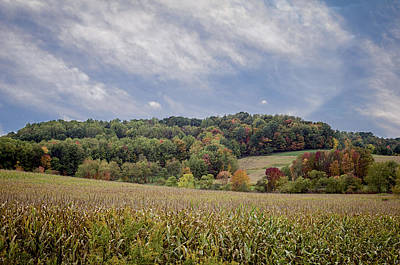 Amish Farms Photograph - Scenic Amish Landscape 6 by SharaLee Art