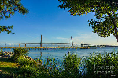Photograph - Scenic Arthur Ravenel Bridge by Jennifer White