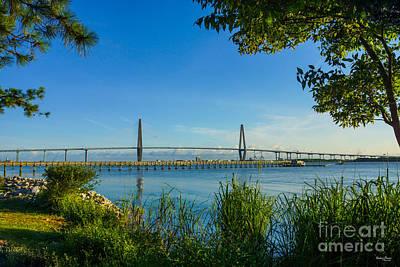 Photograph - Scenic Arthur Ravenel Bridge by Jennifer White