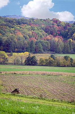 Scenic Autumn Landscape 3 Art Print by SharaLee Art