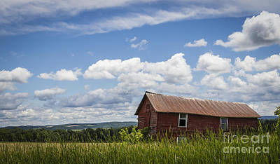 Photograph - Scenic Barn View by Joann Long