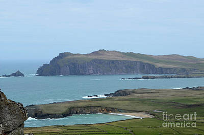 Photograph - Scenic Blasket Islands As Seen From Slea Head Penninsula by DejaVu Designs