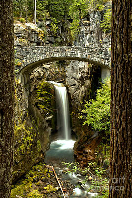 Photograph - Scenic Christine Falls by Adam Jewell