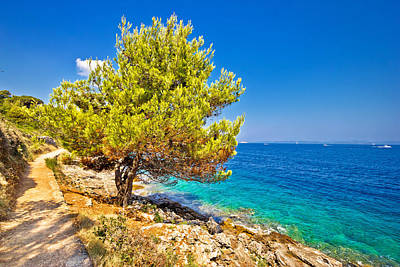 Photograph - Scenic Coast Of Dugi Otok Island by Brch Photography