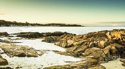 Coast Wall Art - Photograph - Scenic Coastal Dusk by Jorgo Photography - Wall Art Gallery