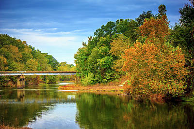 Photograph - Scenic Drive - Autumn Landscape by Barry Jones