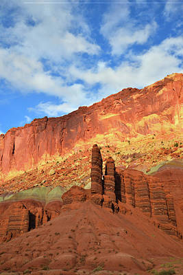 Photograph - Scenic Drive North In Capitol Reef Np by Ray Mathis