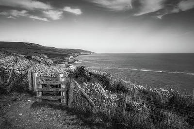 Photograph - Scenic English Coastline. by Roman Grac
