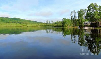 Scenic Gorham Pond #1 Art Print