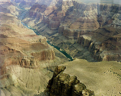 Scenic Grand Canyhon And Colorado River Art Print