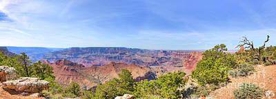 Grand Canyon Photograph - Scenic Grand Canyon Pano by Tod and Cynthia Grubbs