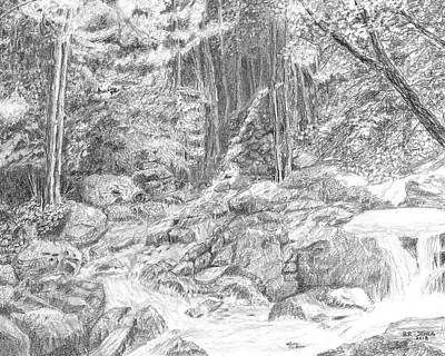Drawing - Scenic Greenbrier by Barry Jones