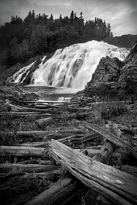 Photograph - Scenic High Falls, Magpie River by Joshua Hakin