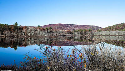 Photograph - Scenic Lake On The Kancamangus by Debra Forand