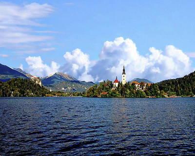 Photograph - Scenic Lake View by Anthony Dezenzio