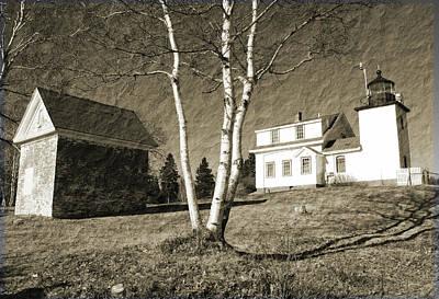 Scenic Maine Print by Becca Brann