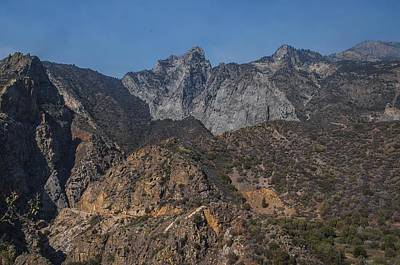 Photograph - Scenic Mountain Backdrop Kings Canyon National Park by NaturesPix