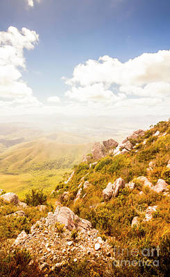 Lookout Photograph - Scenic Mountain Peak by Jorgo Photography - Wall Art Gallery