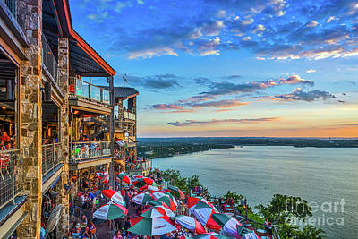 Austin Photograph - Scenic Oasis Sunset  by Tod and Cynthia Grubbs