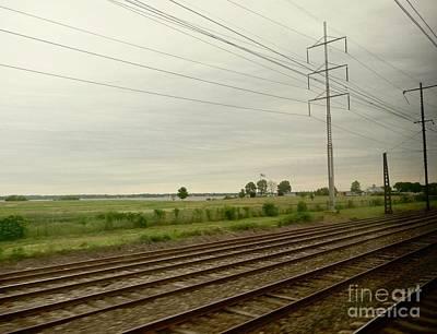 Photograph - Scenic Rail Travel  by Margie Avellino