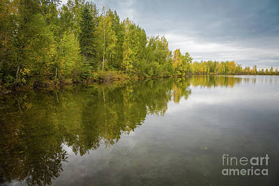 Photograph - Scenic Reflections Lake by Eva Lechner