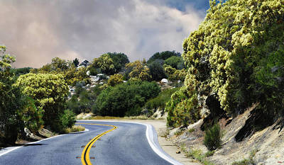 Photograph - Scenic Route To Idyllwild by Glenn McCarthy