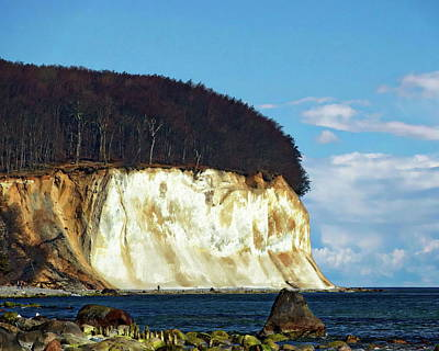 Photograph - Scenic Rugen Island by Anthony Dezenzio