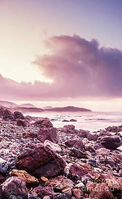 Western Art Photograph - Scenic Seaside Sunrise by Jorgo Photography - Wall Art Gallery