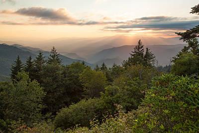 Scenic Smoky Mountains Art Print by Doug McPherson