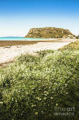 Nature Art Photograph - Scenic Stony Seashore by Jorgo Photography - Wall Art Gallery