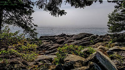 Photograph - Scenic View From Marshall Point, Maine by Marilyn Burton