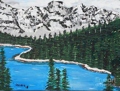 Painting - Scenic View  by Jimmy Clark