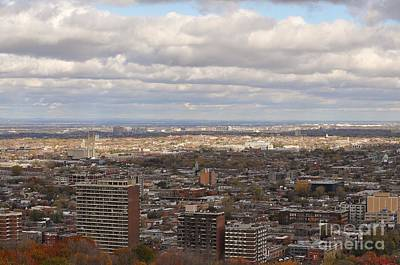 Photograph - Scenic View Of Montreal by Reb Frost