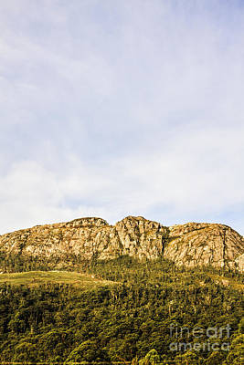 Photograph - Scenic View Of Mount Ferrell In Tullah Tasmania by Jorgo Photography - Wall Art Gallery