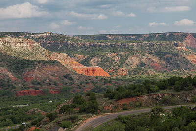 Photograph - Scenic View Of Palo Duro Canyons by Judy Wright Lott