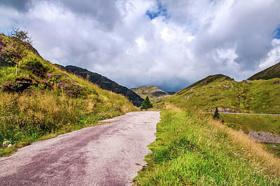 Photograph - Scenic Walkway At Rest And Be Thankful. Scotland by Jenny Rainbow