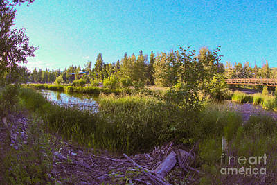 Photograph - Scenic Wandering  Methow Valley Landscapes By Omashte by Omaste Witkowski