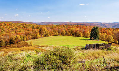 Photograph - Scenic West Virginia Autumn Countryside by Kathleen K Parker