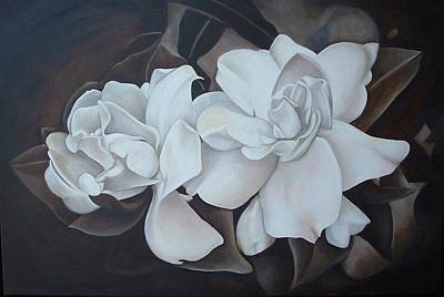 Scent Of Gardenias Print by Daniela Easter