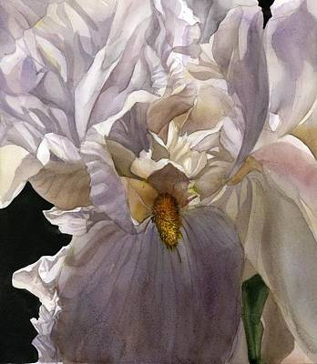 Painting - Scent Of The Iris by Alfred Ng