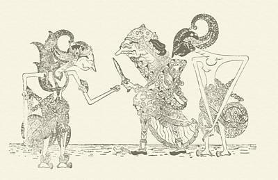 Mahabharata Painting - scent Prabu Palgunadi medium by Dedi Dolrased